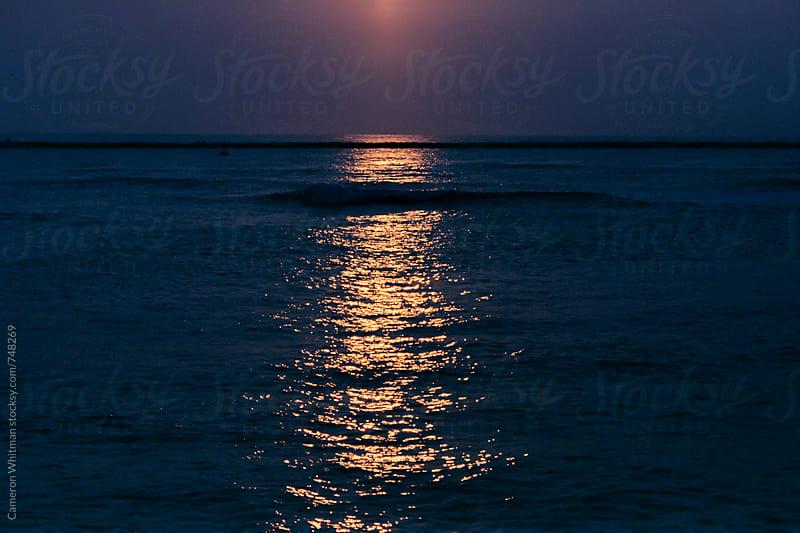Sunrise over the Atlantic Ocean by Cameron Whitman for Stocksy United