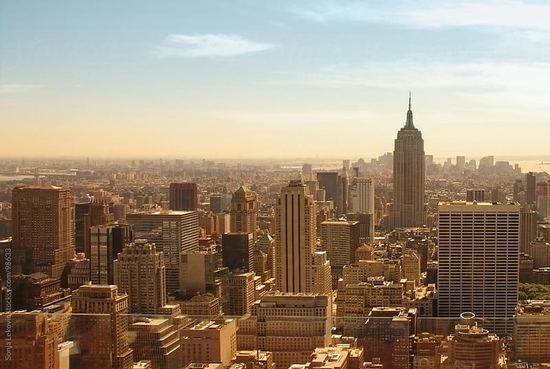 manhattan / new york city view by Sonja Lekovic for Stocksy United