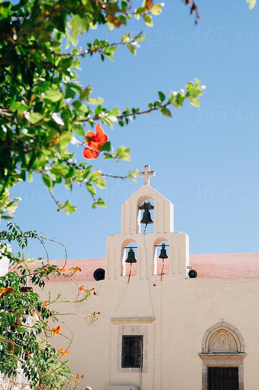 Orthodox monastery on Crete Island in Greece by Ivan Bastien for Stocksy United