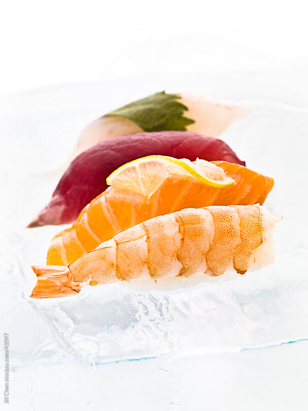 Sushi On Ice by Jill Chen for Stocksy United