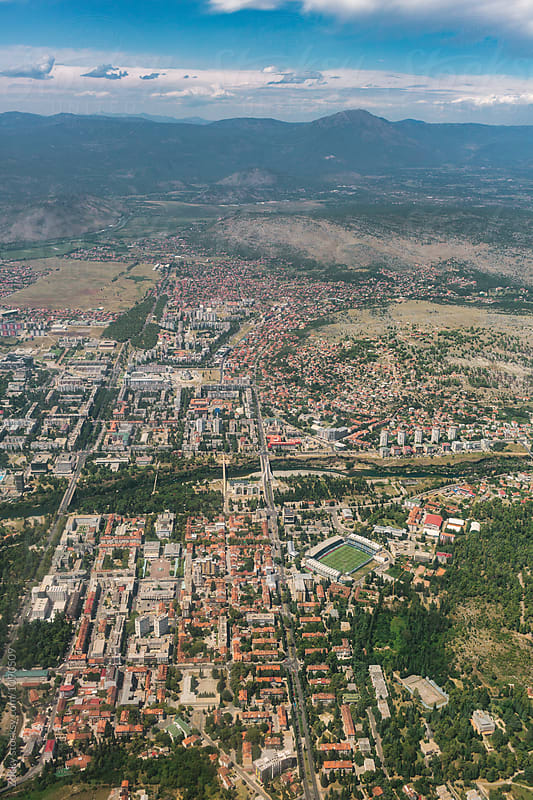 Podgorica from above by Zocky for Stocksy United