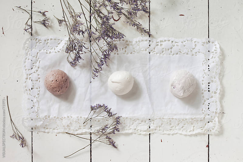 Three Meringues by VISUALSPECTRUM for Stocksy United