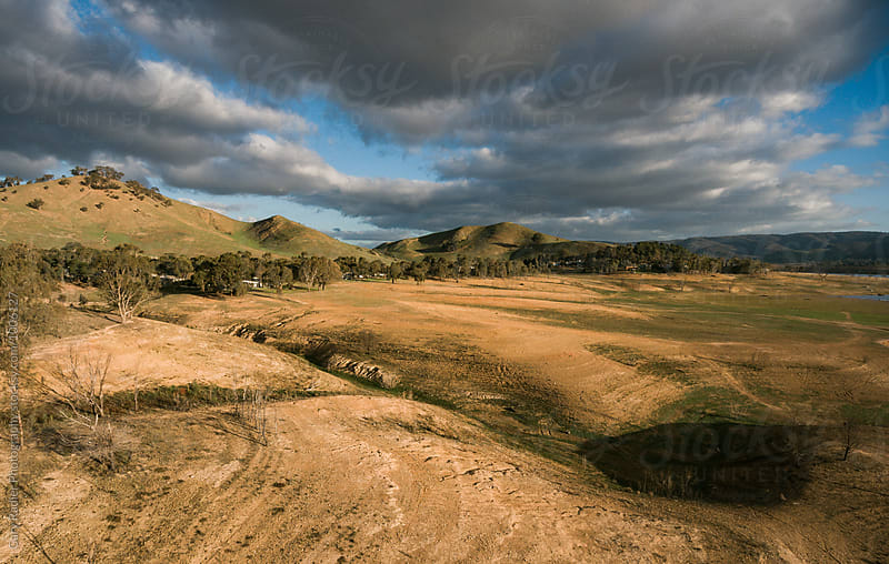 View of Bonnie Doon Camping Ground in the Distance  by Gary Radler Photography for Stocksy United