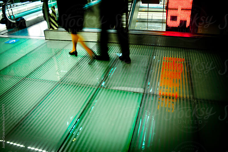 Reflexes at the airport by Juanjo Grau for Stocksy United
