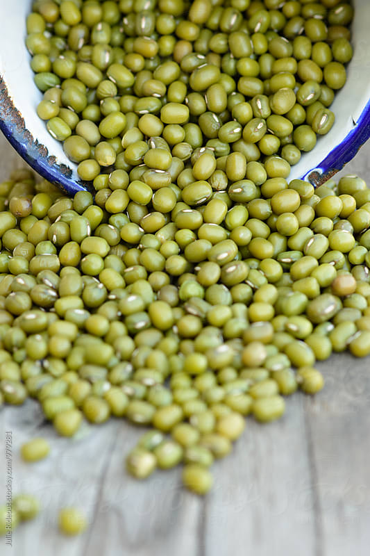 Dried Mung Beans by Julie Rideout for Stocksy United