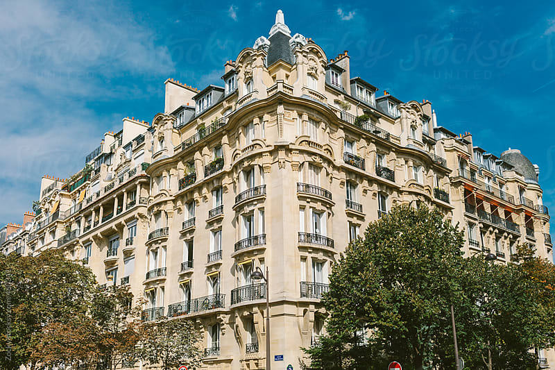 Paris City Apartments by Zocky for Stocksy United