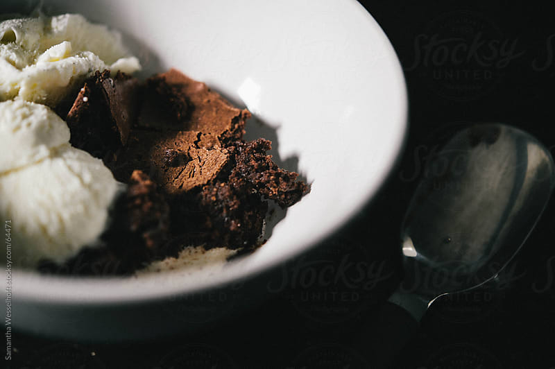 brownies a la mode by Samantha Wesselhoft for Stocksy United
