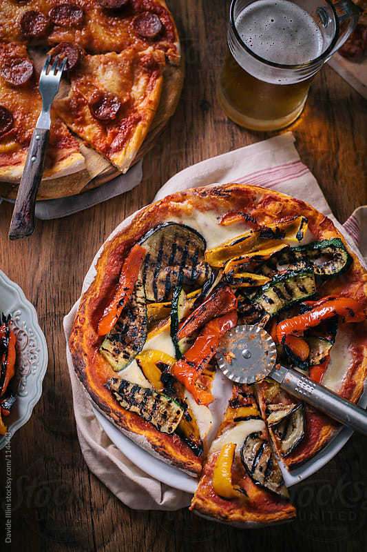 Italian Pizza by Davide Illini for Stocksy United