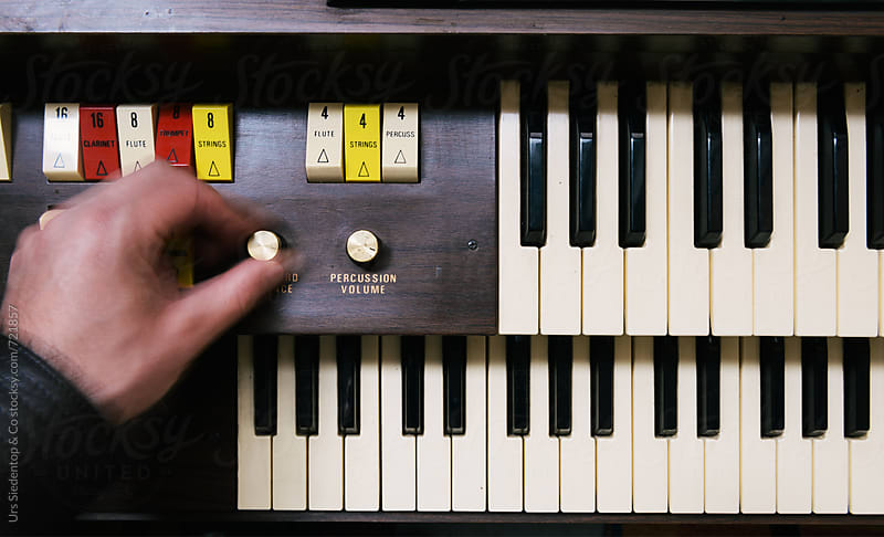 Turning up the volume on keyboard by Urs Siedentop & Co for Stocksy United