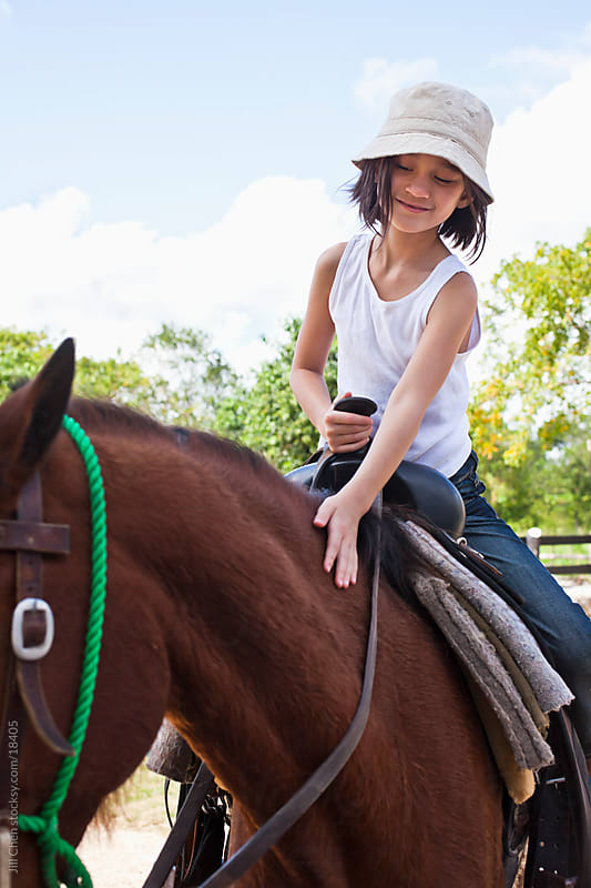 Horseback Riding by Jill Chen for Stocksy United