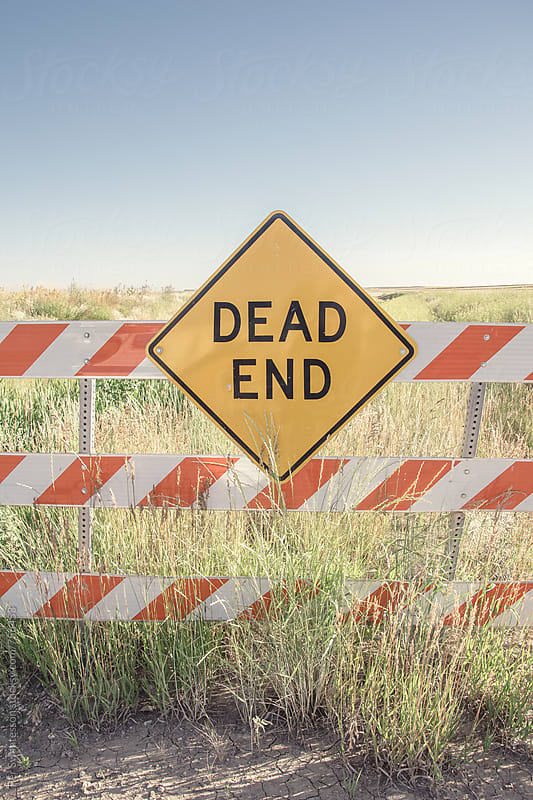 Dead end sign by Per Swantesson for Stocksy United