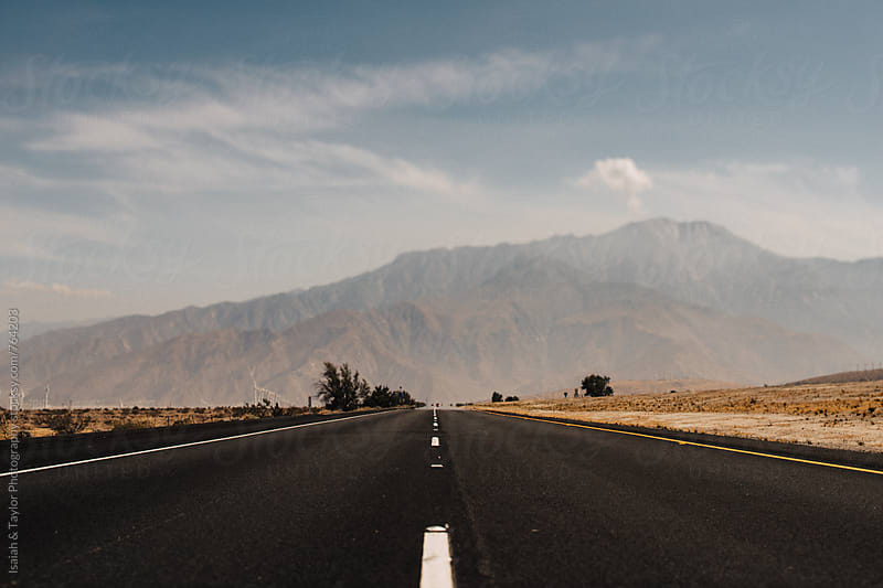 A wide open road by Isaiah & Taylor Photography for Stocksy United