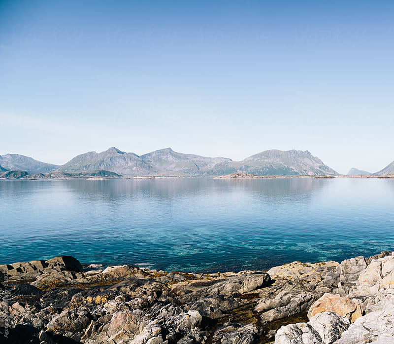 Lofoten Waters by Agencia for Stocksy United