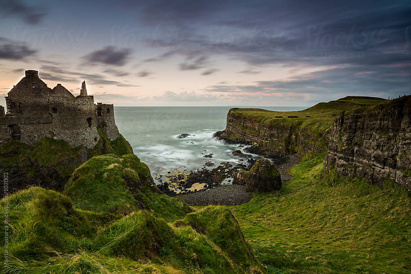 Dunluce Castle by Marilar Irastorza for Stocksy United