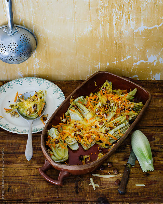 Vegetable casserole by J.R. PHOTOGRAPHY for Stocksy United
