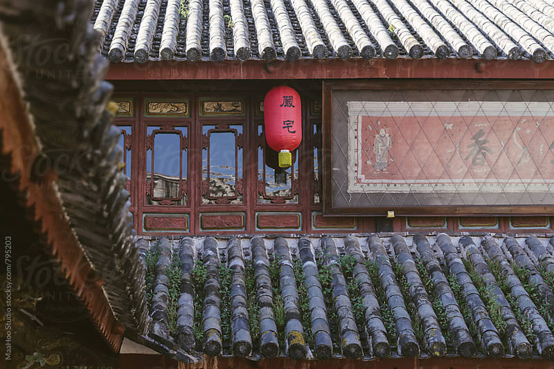 A traditional Chinese house by MaaHoo Studio for Stocksy United