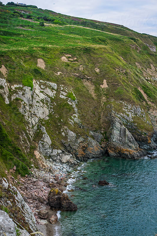Howth Cliffs by Eva Plevier for Stocksy United
