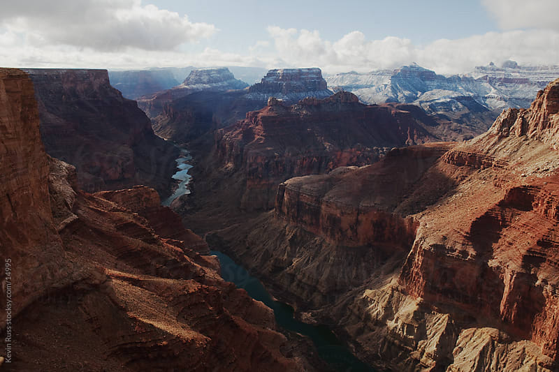 Shadowed Marble Canyon by Kevin Russ for Stocksy United