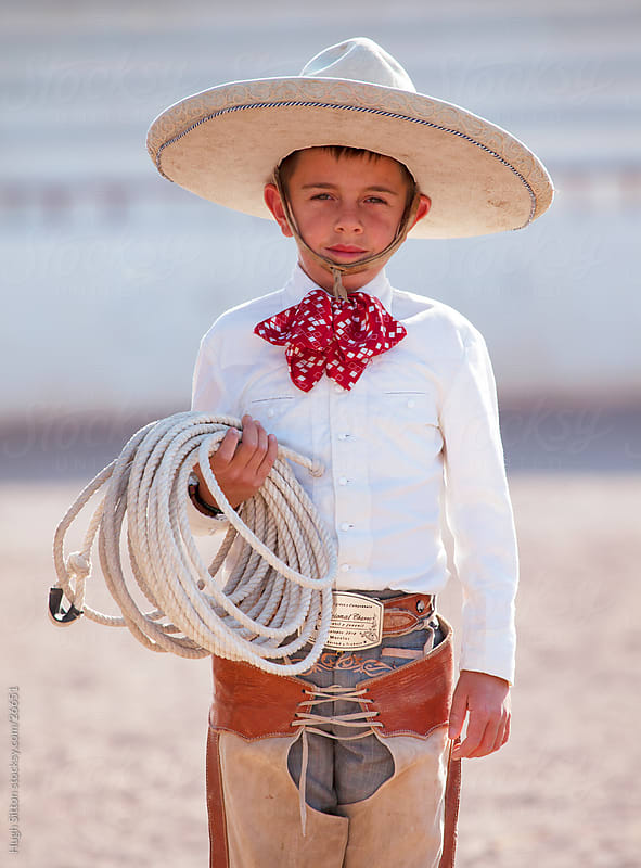 Mexican Cowboy or Charro. Mexico by Hugh Sitton for Stocksy United