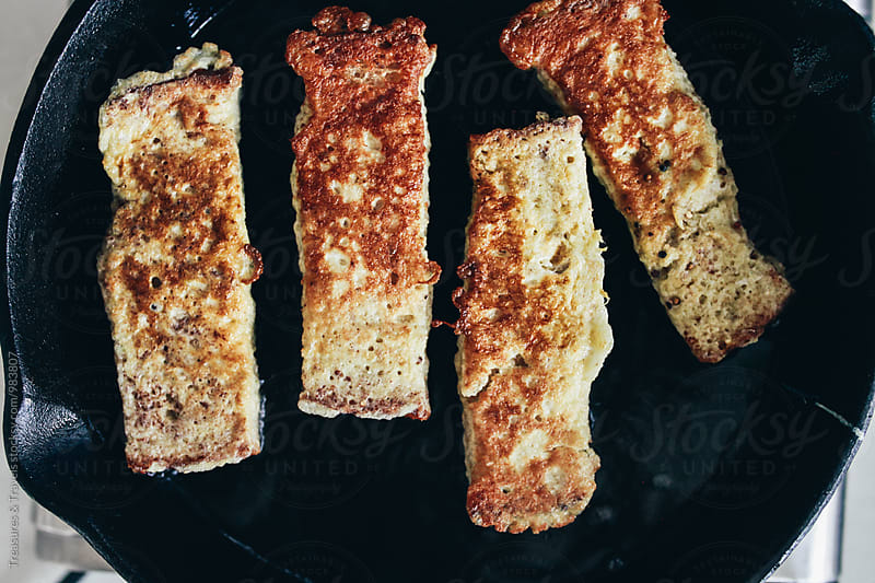 french toast sticks by Treasures & Travels for Stocksy United