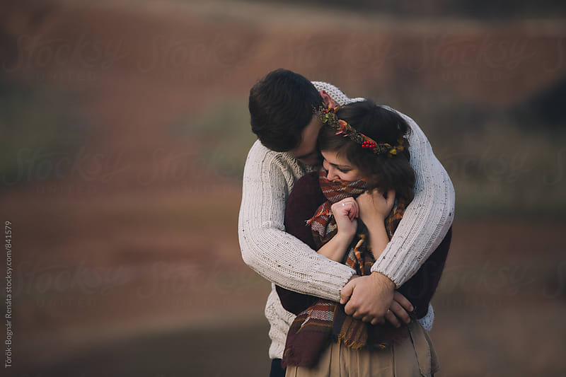 Lovely young couple by Török-Bognár Renáta for Stocksy United