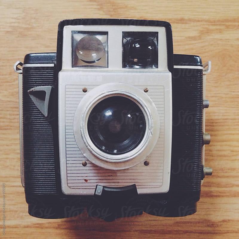 Vintage film camera by Greg Schmigel for Stocksy United