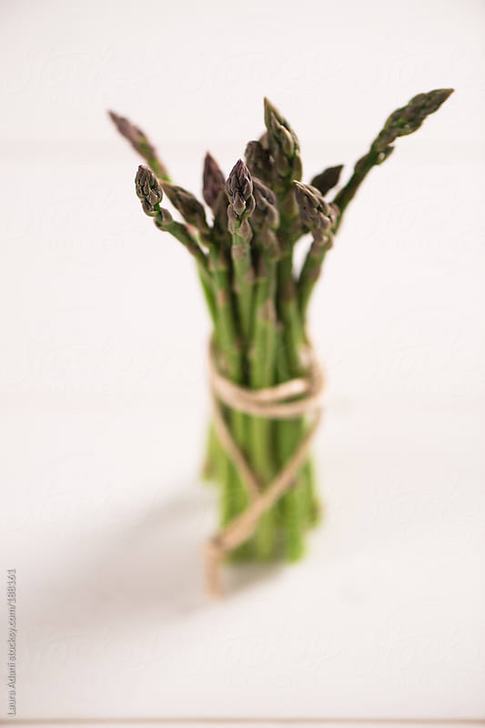 a bouquet of asparagus by Laura Adani for Stocksy United
