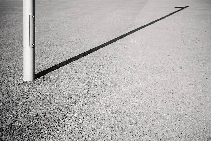 Lamp post shadow by Sam Burton for Stocksy United
