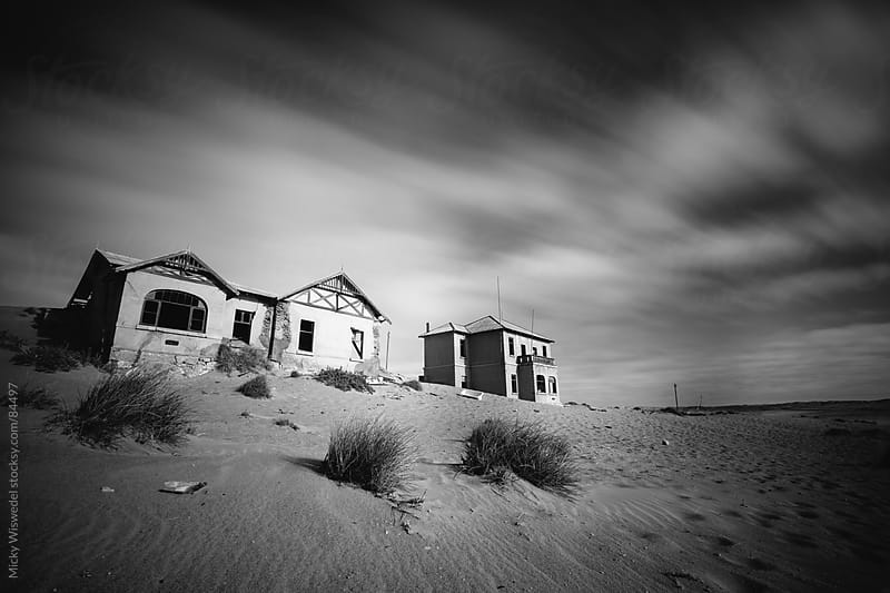 Abandoned house in Kolmanskop, Namibia by Micky Wiswedel for Stocksy United