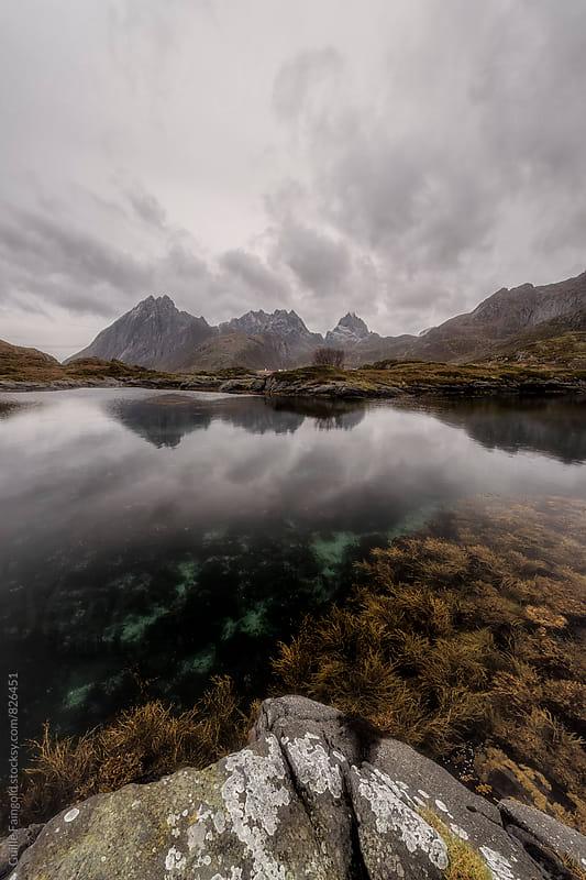 Landscape in Lofoten islands. Norway by Guille Faingold for Stocksy United