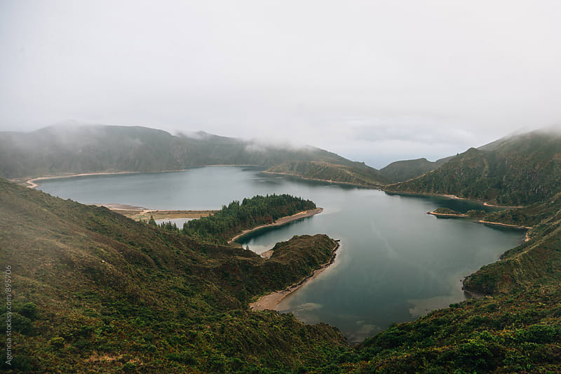 Sete Cidades lake by Agencia for Stocksy United