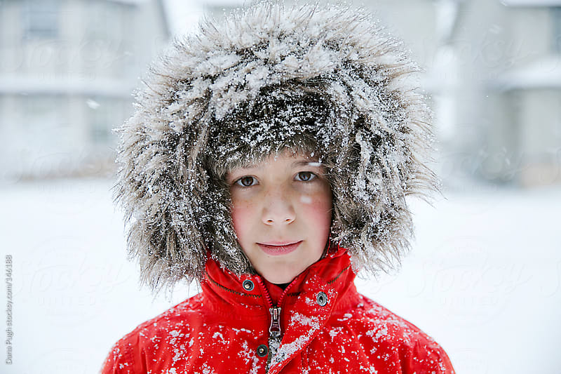Winter boy by Dana Pugh for Stocksy United