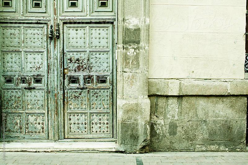 Door & Wall by Juanjo Grau for Stocksy United