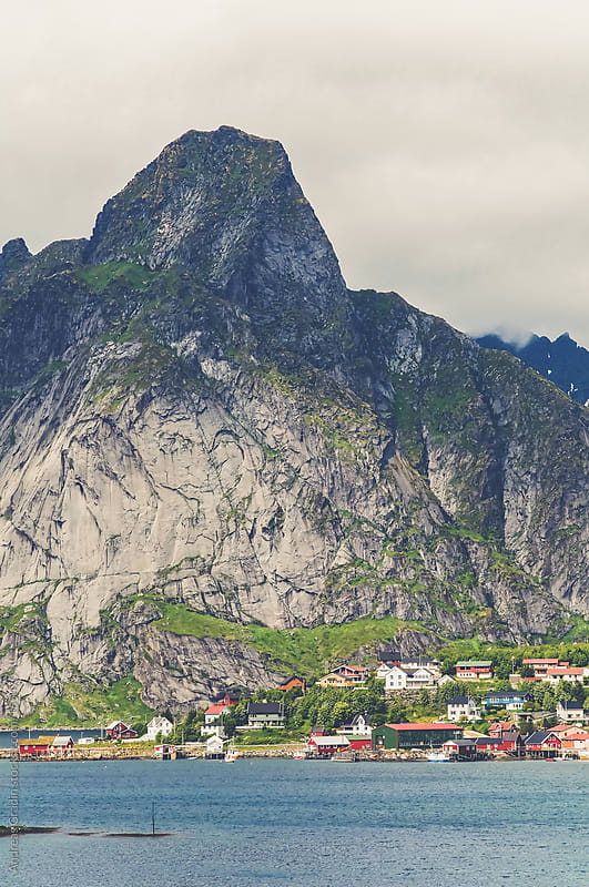 norweigian fjord by Andreas Gradin for Stocksy United