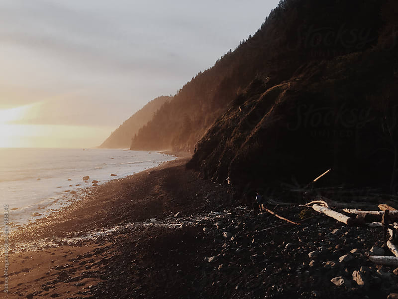 Lost Coast Camping by Sidney Morgan for Stocksy United