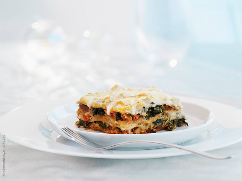 Vegetable Lasagna by Jill Chen for Stocksy United