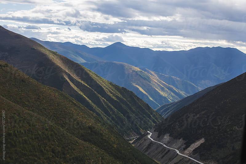 Tibet mountain by zheng long for Stocksy United