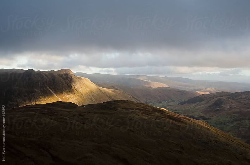 Golden Mountain Light by Neil Warburton for Stocksy United