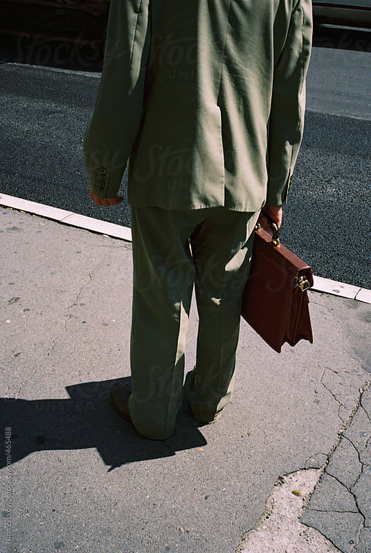 Going to work. by Nina Zivkovic for Stocksy United