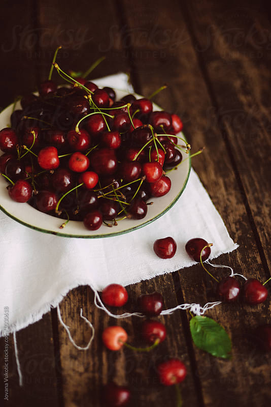 Cherries by Jovana Vukotic for Stocksy United