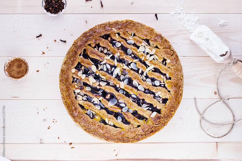Linzer torte  by Milena Milani for Stocksy United