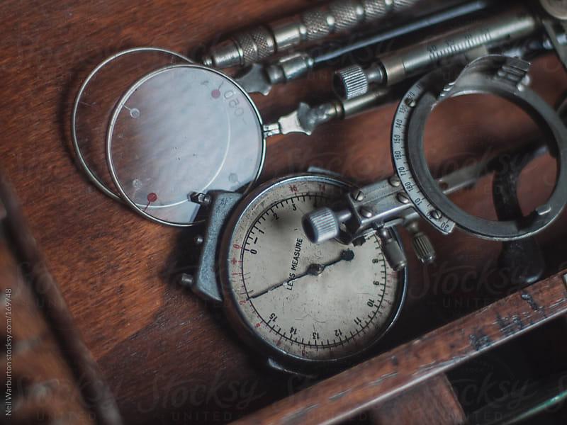 Vintage Optometrist Set by Neil Warburton for Stocksy United