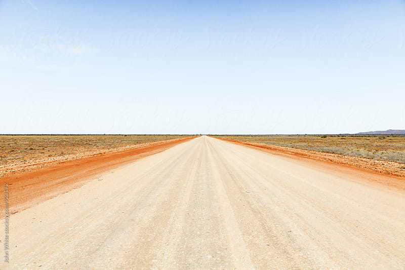 Road in outback Australia. by John White for Stocksy United
