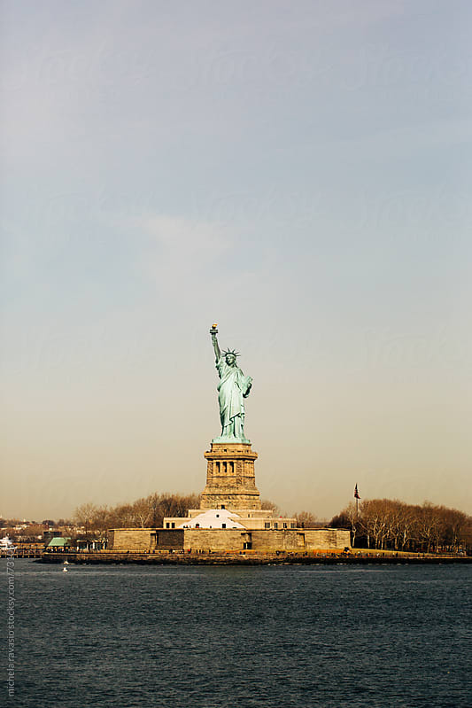 Statue of liberty in NYC by michela ravasio for Stocksy United