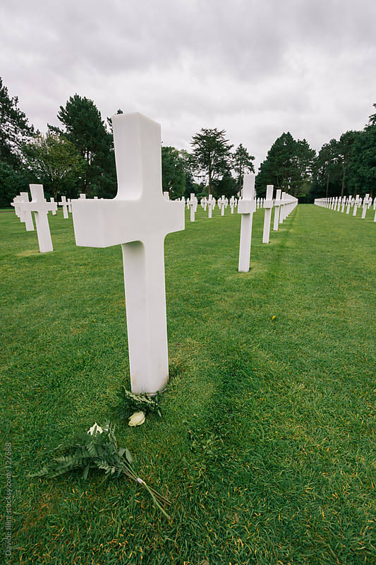 American Cemetery in Normandy, France. by Davide Illini for Stocksy United