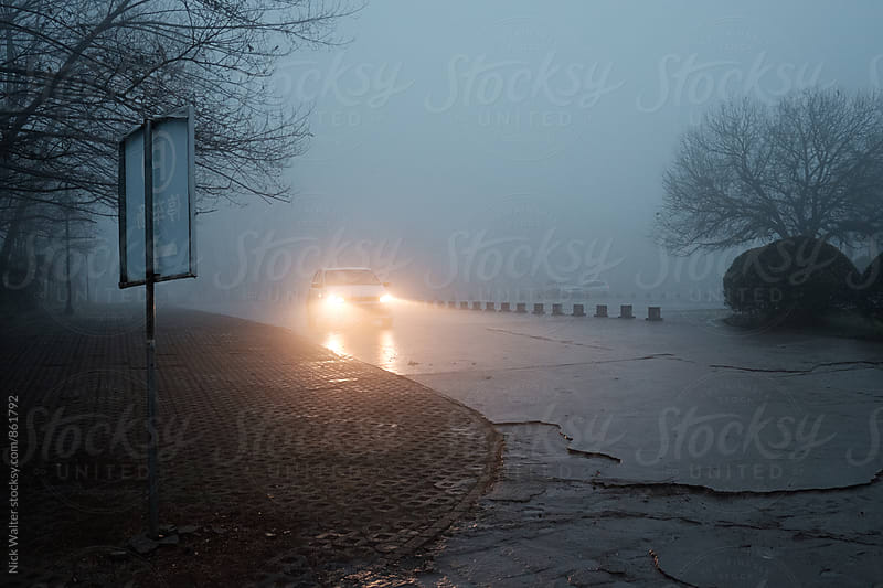 Huanain Under Thick Fog by Nick Walter for Stocksy United