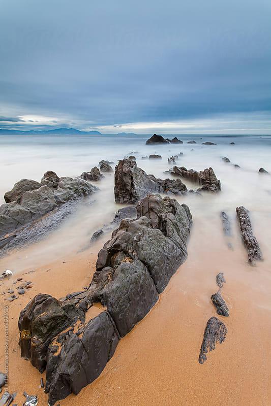 Beach&Rocks by Marilar Irastorza for Stocksy United