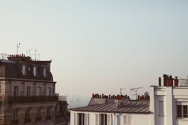 Rooftops of Paris by ALICIA BOCK for Stocksy United