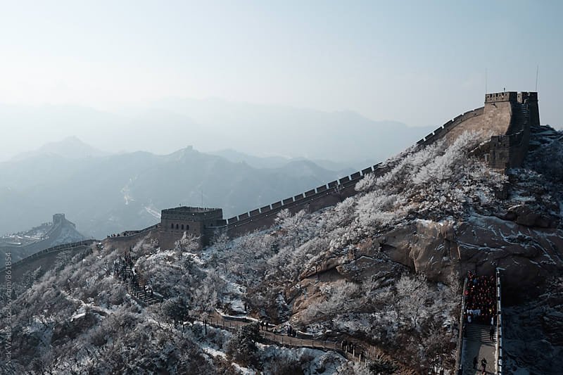 The Great Wall of China by Nick Walter for Stocksy United