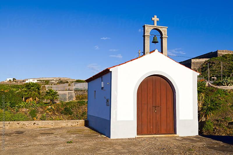 Small Hermitage in Buenavista del Norte, Tenerife by Victor Torres for Stocksy United